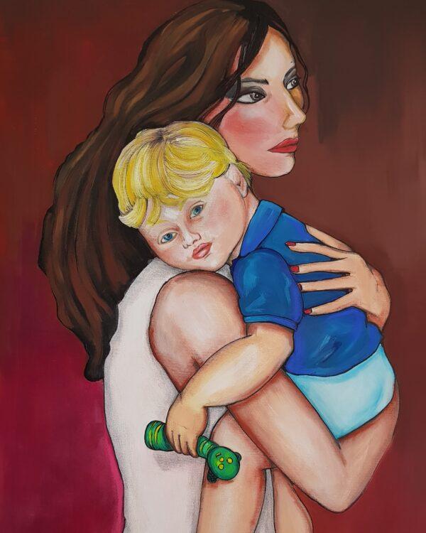 Abbraccio materno