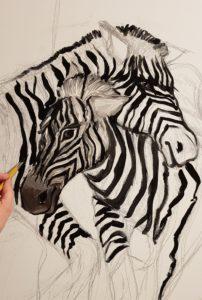 Disegno Zebre
