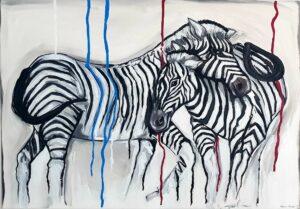 Quadro Zebre
